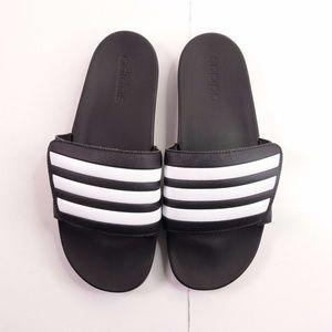 NEW adidas Adilette Adjustable Comfort Slide